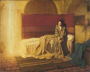 The Annunciation - Henry Ossawa Tanner (1898)