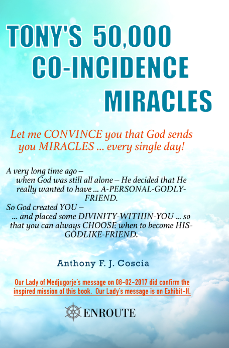 Tony's 50,000 Co-Incidence Miracles