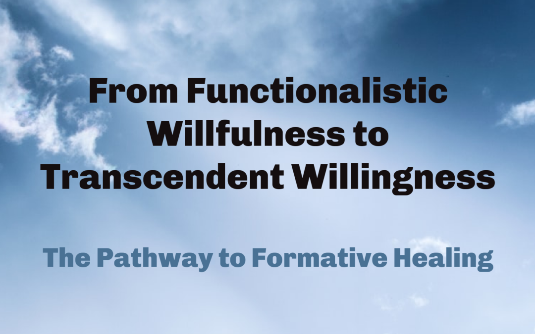 From Functionalistic Willfulness to Transcendent Willingness by Msgr. Albert Kuuire