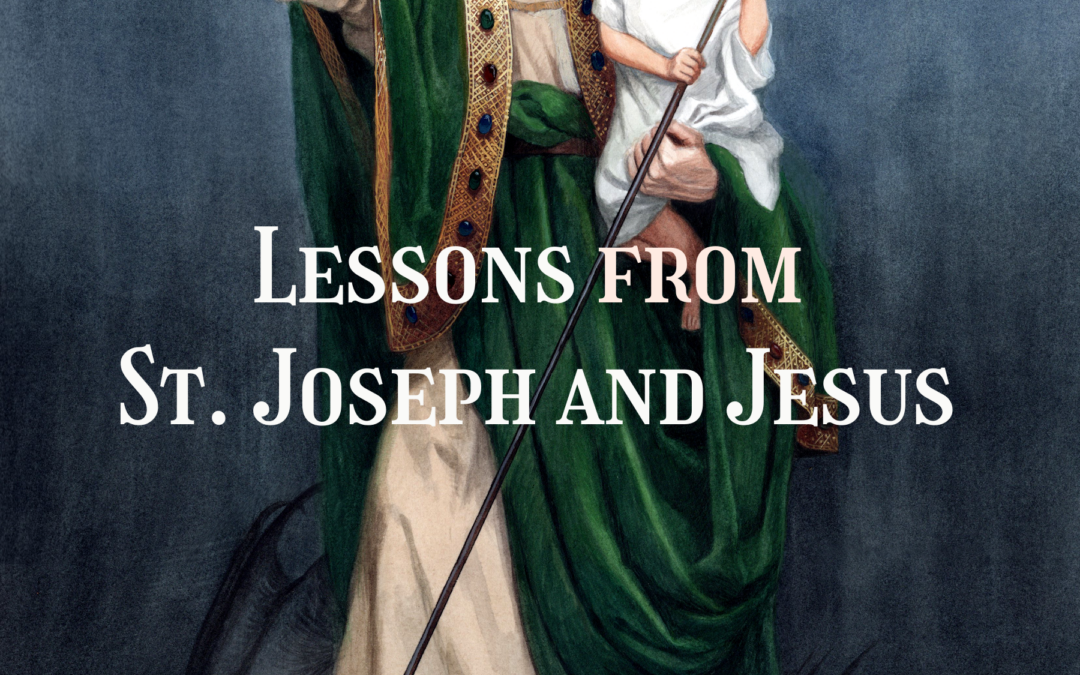 Manning Up! Lessons from St. Joseph and Jesus by Fr. Michael Nixon